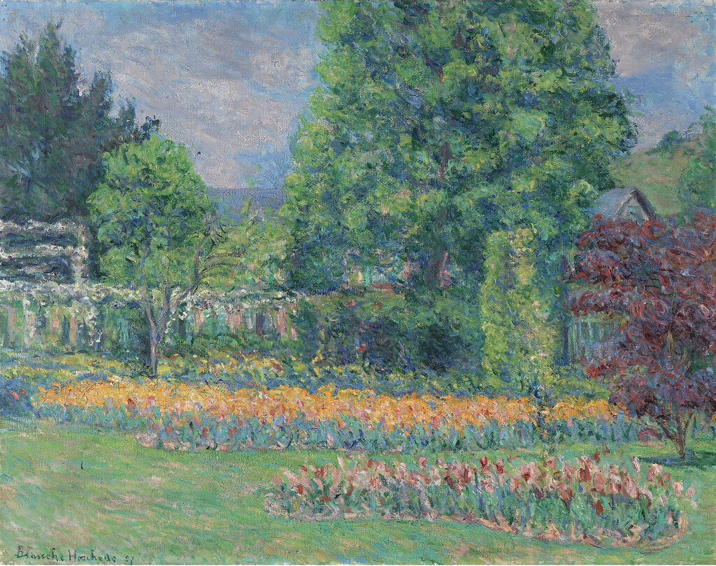 Blanche Hochede-Monet - The Gadren at Giverny, 1927.jpeg