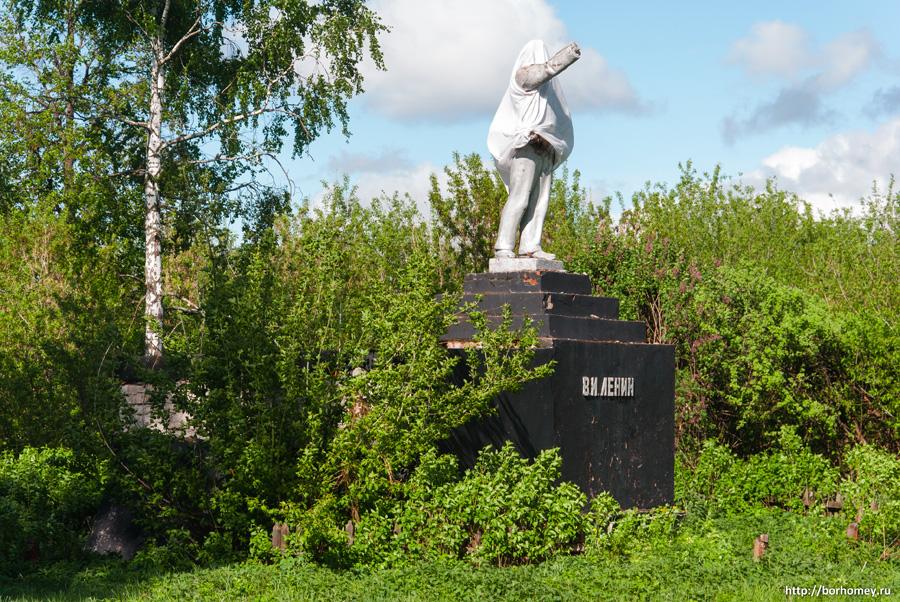 памятник ленину в пурдошках фото