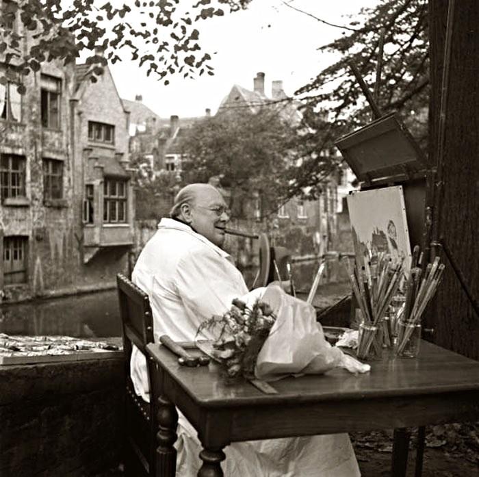 Черчилль-живописец  Canal.jpg
