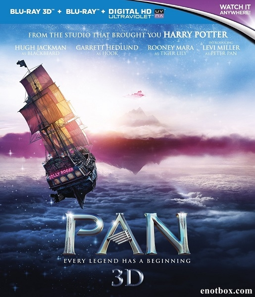 Пэн: Путешествие в Нетландию / Pan (2015/BDRip/HDRip/3D)