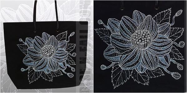 Женская сумка Цветок