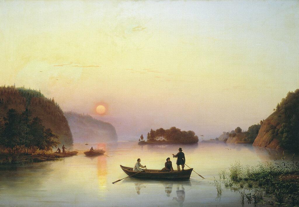 0386.Ivanov.Anton.(1818-1864).Pereprava.N.V.Gogolia.cherez.Dnepr.1845.holst.maslo.jpg
