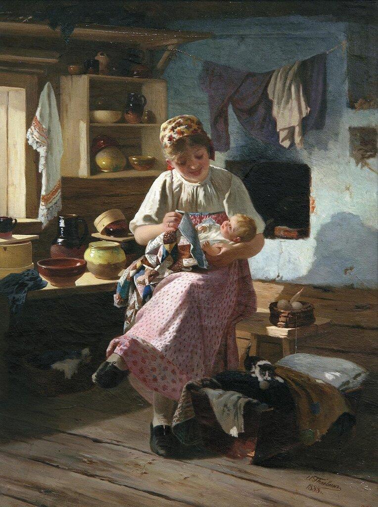0788.Pelevin.Ivan.(1840-1917).Pervenec.1888.holst.maslo.jpg