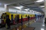 Выставка вагонов Московского Метро на 80-летие ММ
