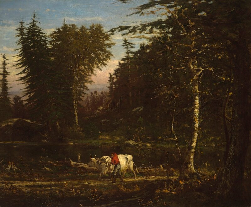 In the Adirondacks, circa 1862