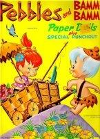 Книга Pebbles and Bamm-Bamm Paper Dolls
