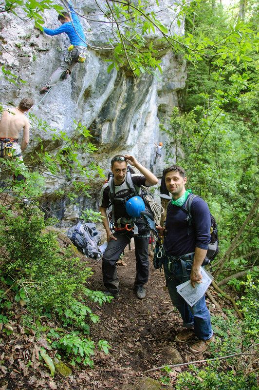 Тренировочный выезд на скалы Гуамки 1-4 мая 2015