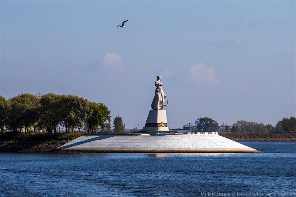 С символом Рыбинска определились