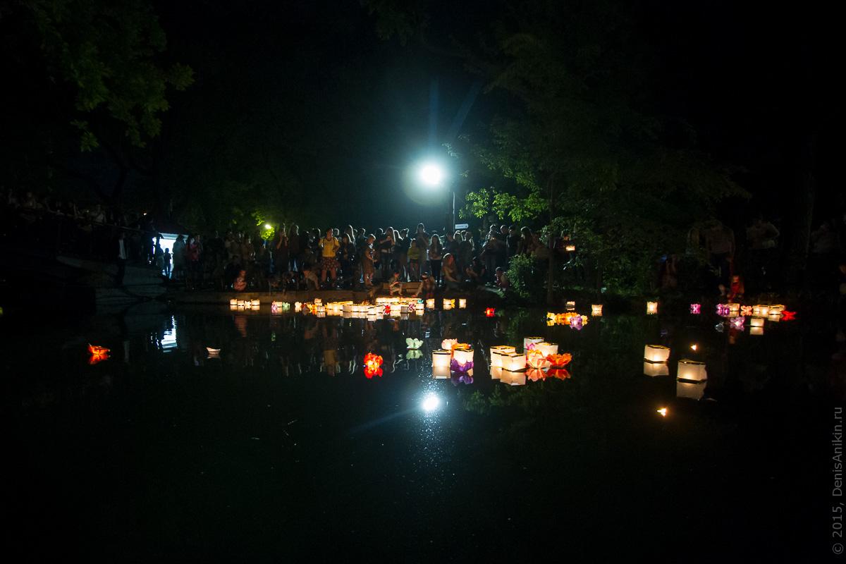 Фестиваль водных фонариков Саратов 8