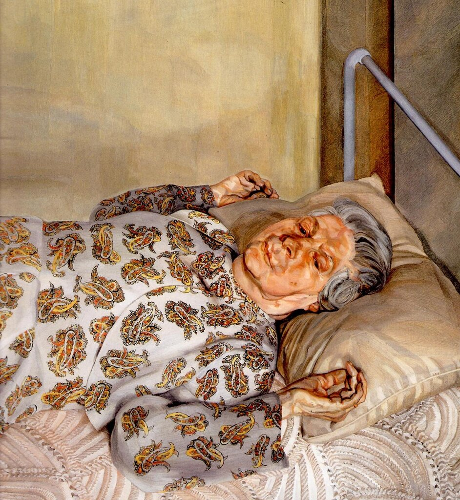 Фото картины спящая домработница фрейд 18 фотография