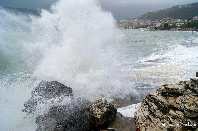 Разбившаяся волна