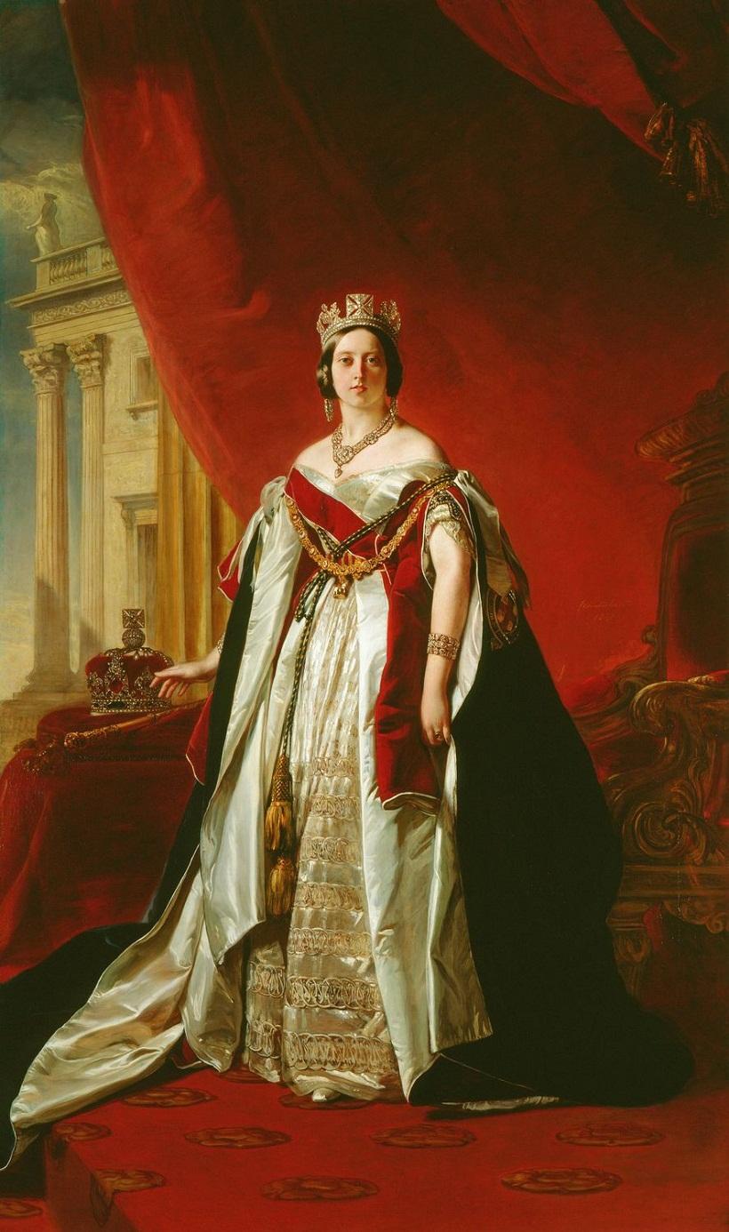 Винтерхальтер (1805-73)Королева Виктория (1819-1901)  1843 По заказу королевы Виктории