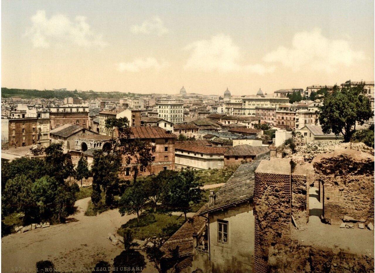 Дворец Цезарей. Панорама