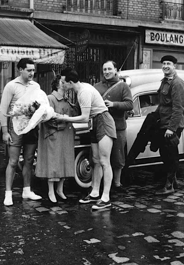 1945. Победитель гонки
