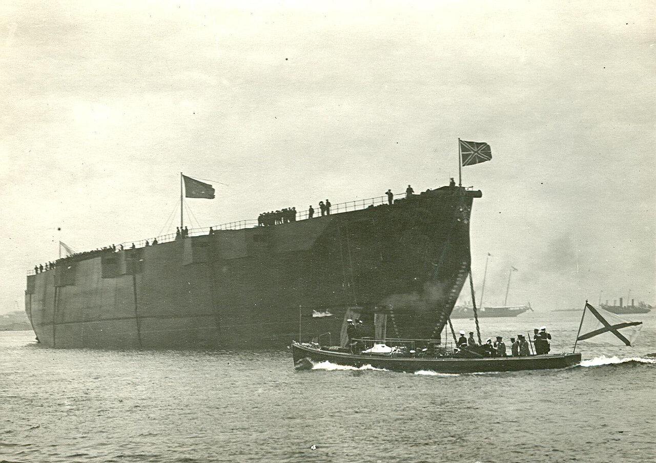 47. Корабль, спущенный на воду