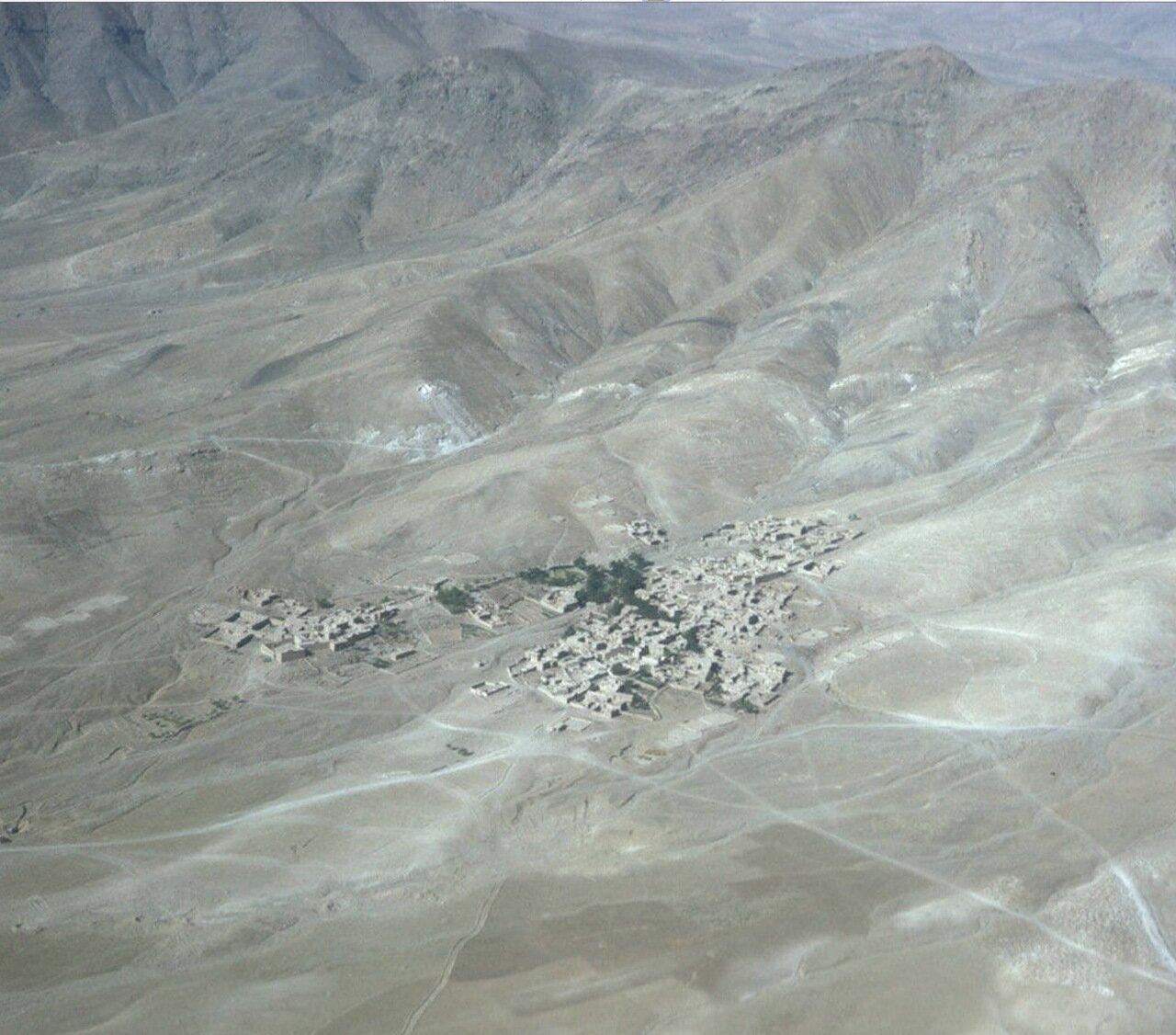 Аэрофотосъемка горного села