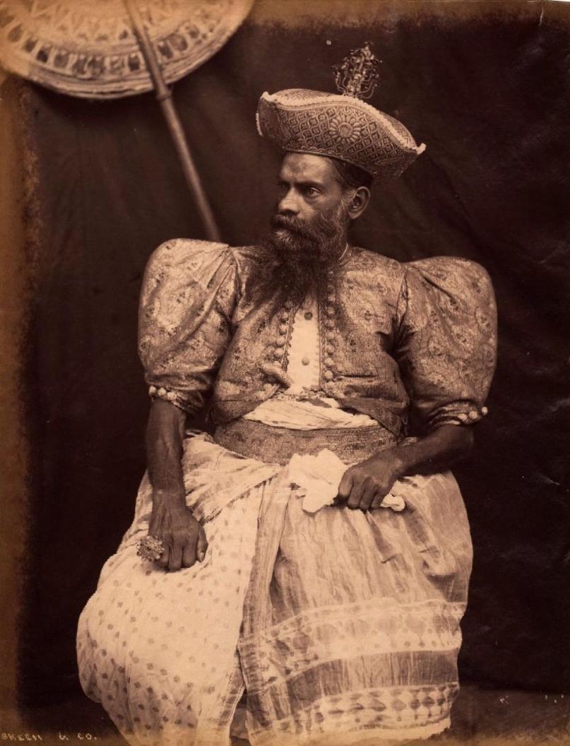 Портрет правителя Канди