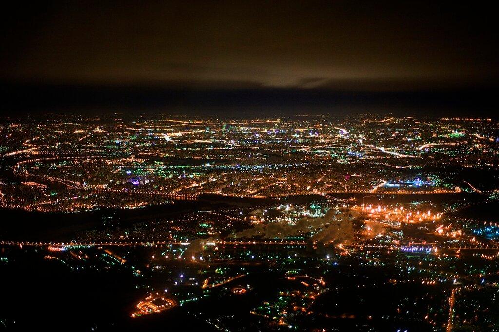 Как красиво сфотографировать ночной город будут подробно