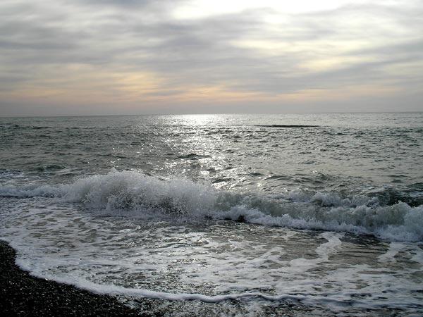 море декабрь сочи