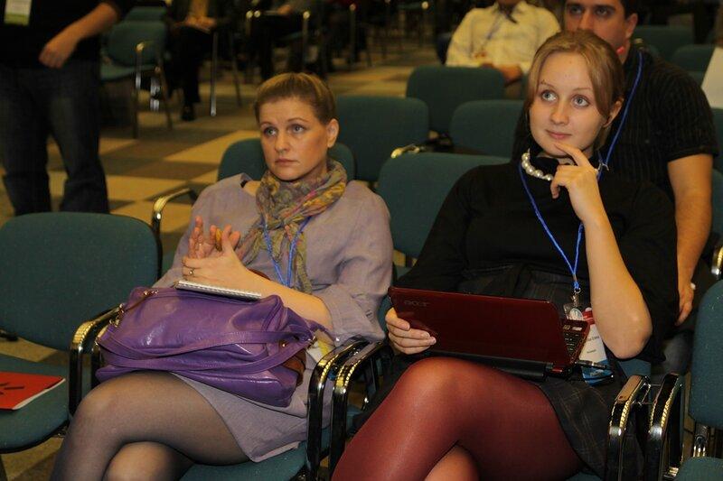 Елена Бурдюгова на ашмановской конференции