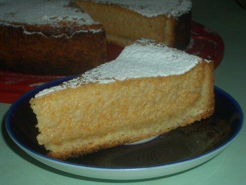Тыквенный пирог с айвой