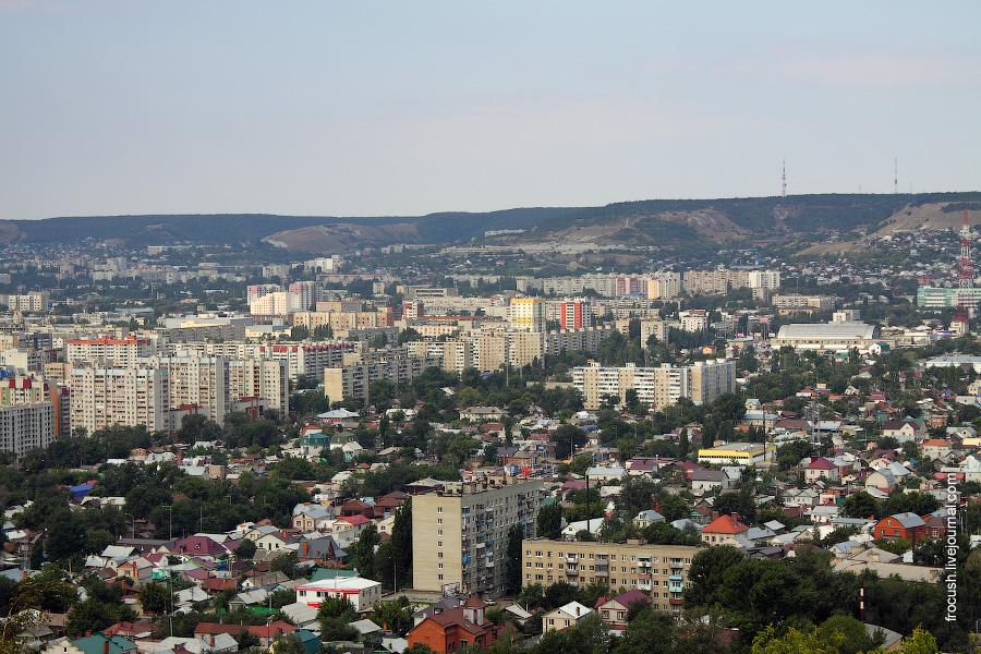 Вид на Саратов с Соколовой горы