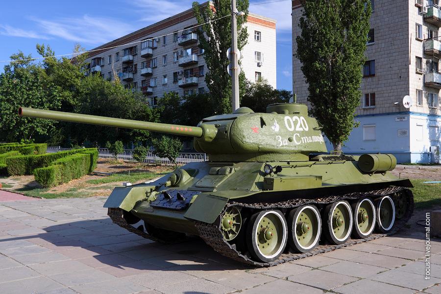 T-34-85 — советский средний танк периода Великой Отечественной войны.