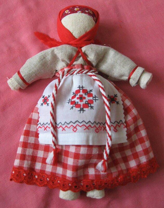 Мастер класс кукла оберег сделанная своими руками