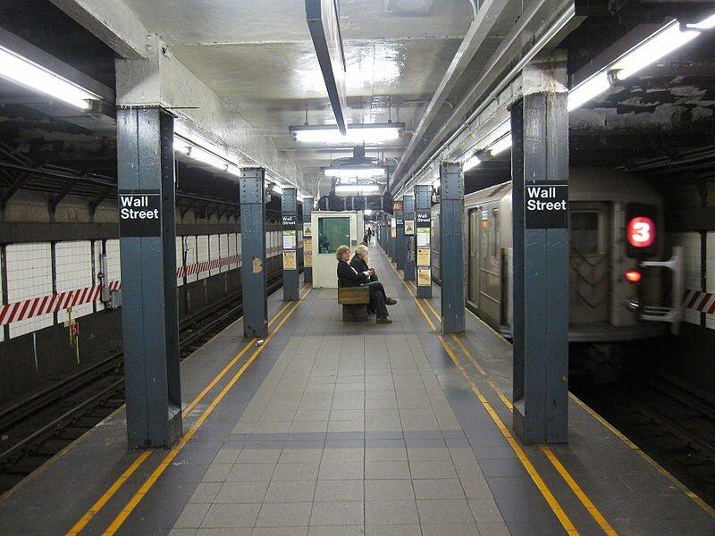 уолл стрит метро