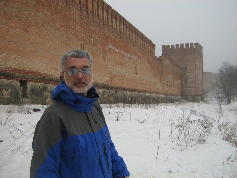 Кошкин у Кремёвской стены