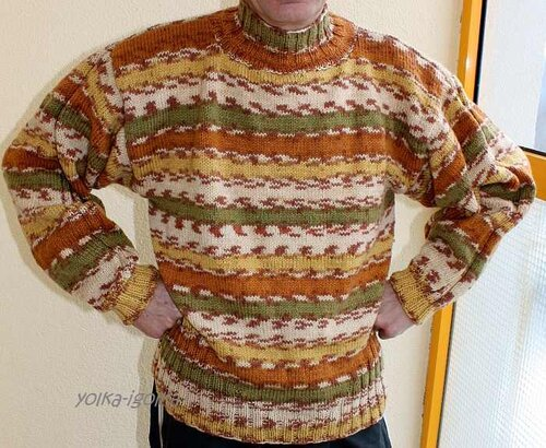 Бесплатные модели и схемы вязания крючком и спицами для женщин, Мужские вязаные джемпера и пуловеры Мужской свитер...