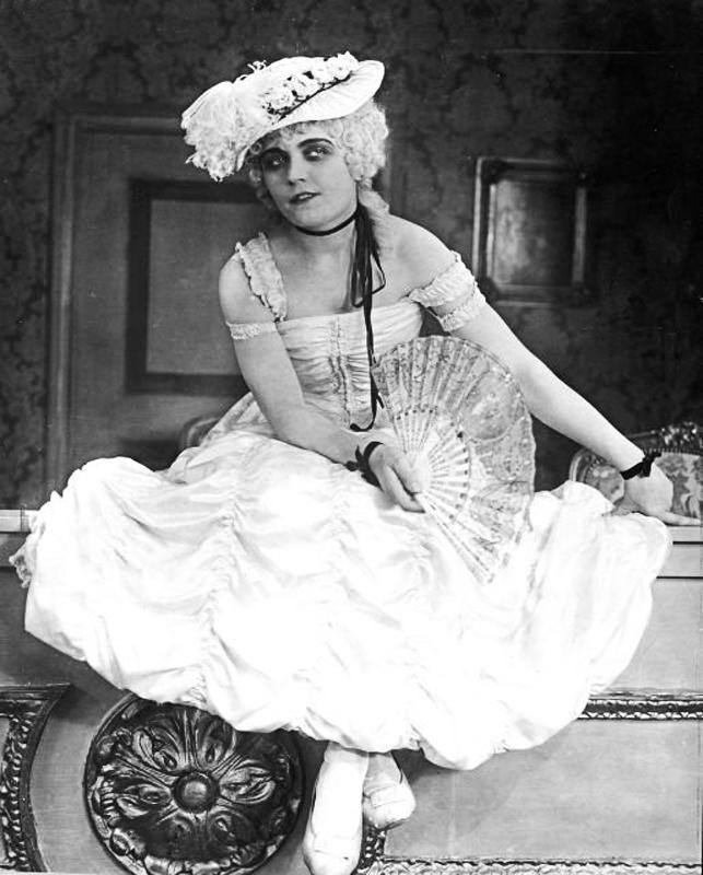 """Пола Негри """"Мадам Дюбарри"""", 1919 год, режиссёр Эрнст Любич"""