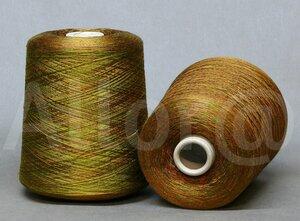 Loro Piana (multicolor)  осенняя листва (желтый-оранжевый-зеленый-терракотовый)