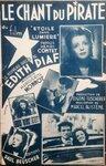 Le chant du pirate - Edith Piaf