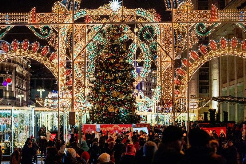 Неменее 7-ми млн. человек посетили зимние фестивали в столице