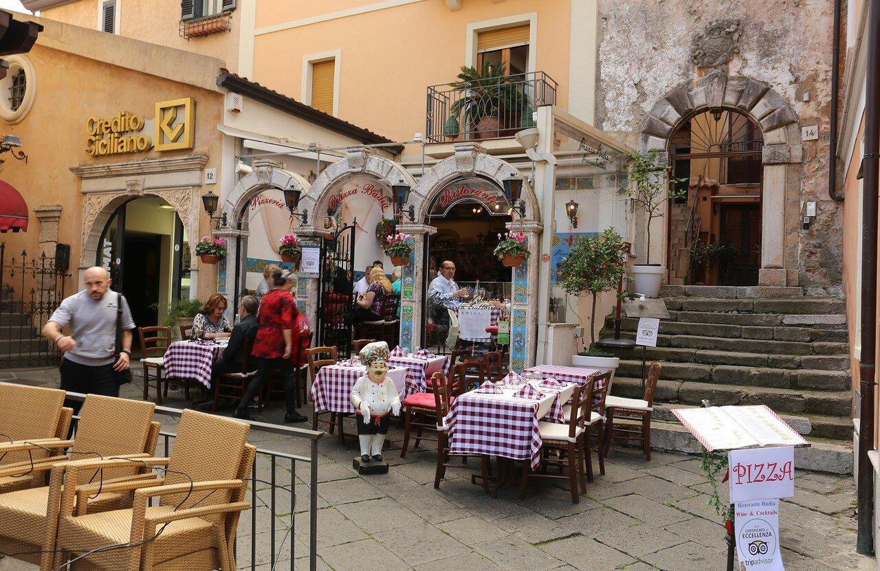 Corso Umberto I - main street of Taormina