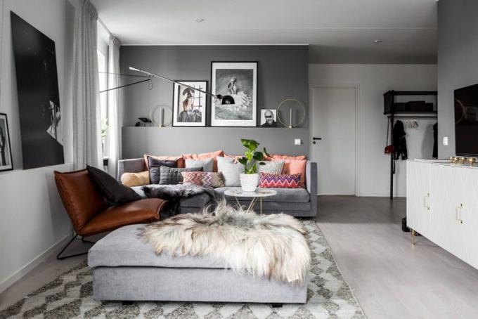 Скандинавская квартира в Стокгольме (11 фото)