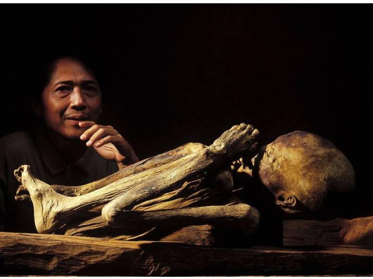 Несмотря на очевидную древность и хрупкость останков, некоторые мумии Кабаяна были украдены и продан