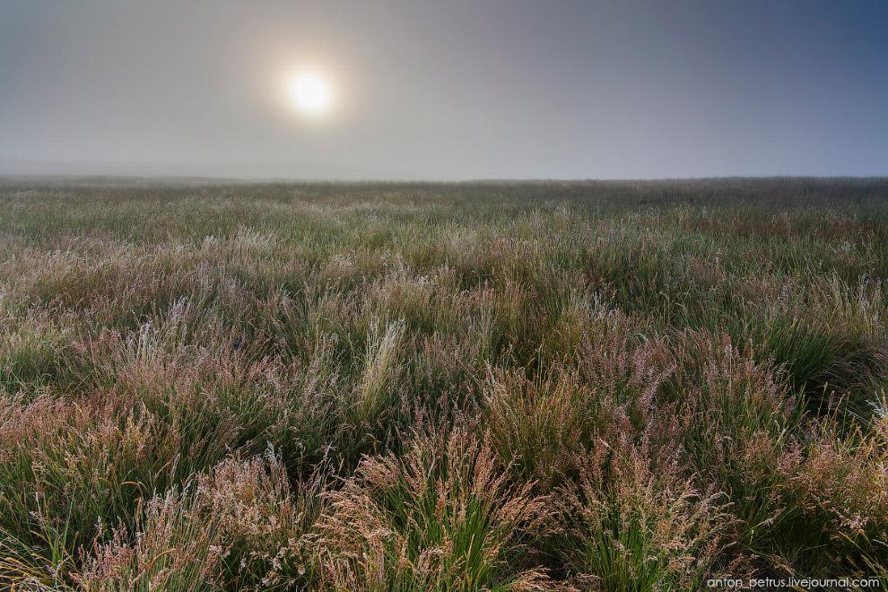 12. Через пару часов от тумана ни осталось ни следа. Зато при ярком утреннем солнце стало хорош