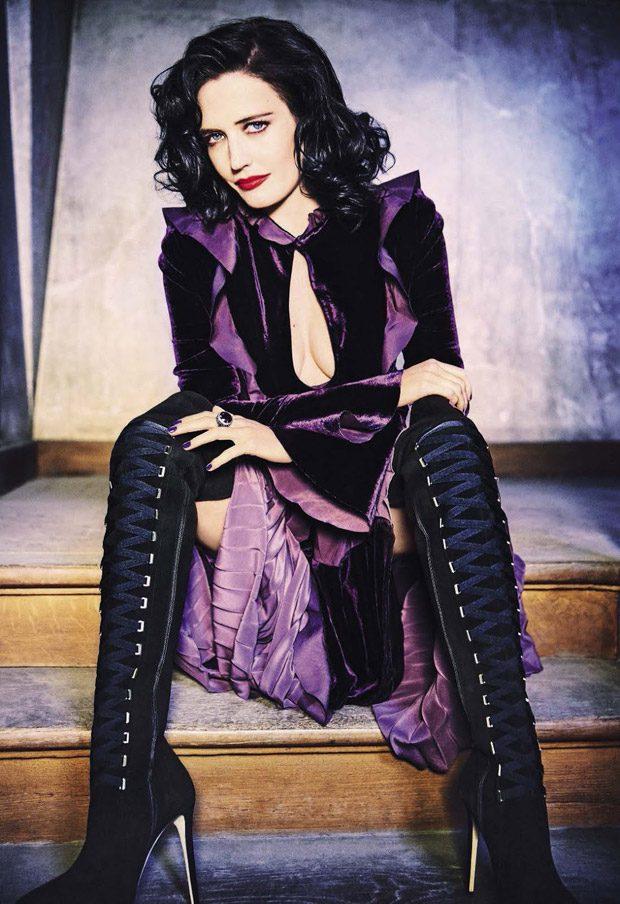 Ева Грин в Glamour Italia