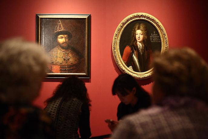Выставка «Романовы иГримальди» открывается вТретьяковской галерее