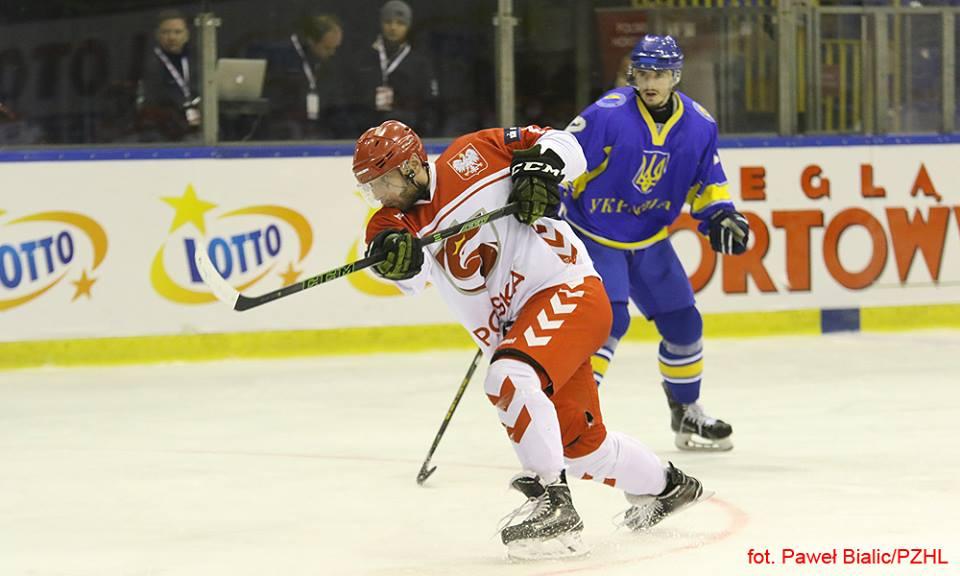 Сборная Украины похоккею проиграла команде Польши вовтором матче EIHC