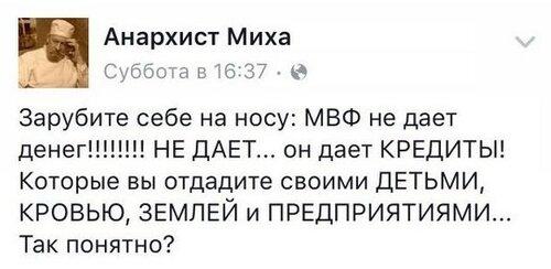 Всё, что вы хотели бы знать о кредитах МВФ, на примере Украины