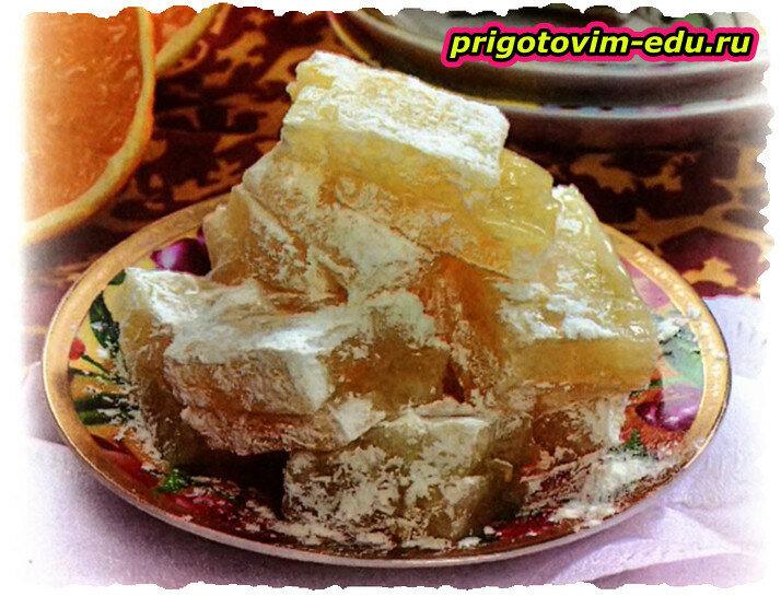 Рахат-лукум цитрусовый