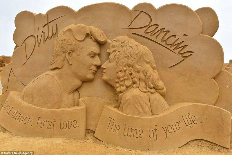 Скульптура по мотивам мелодрамы «Грязные танцы».