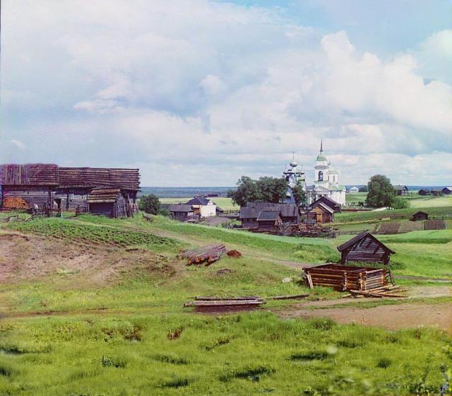 Село Палтога Вытегорского района Вологодской области