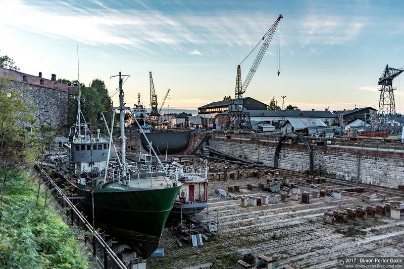 Хельсинки. Крепость Свеаборг