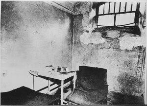 Тюремная камера Германа Геринга в Нюрнбергской тюрьме