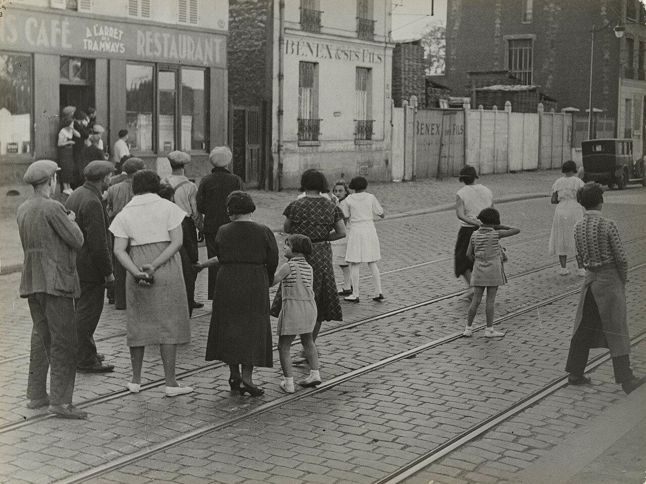 1931. Авария в пригороде