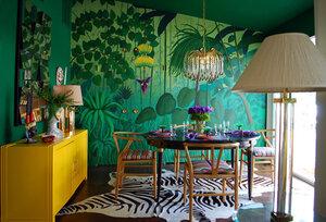 Мебель для семейной столовой - экзотика прямо дома